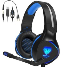 Xbox one Headset,Henscoqi Gaming Headset for PS4 Xbox one 3.5mm Over-Ear... - $31.66
