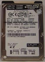 """NEW HTS548040M9AT00 40GB Hitachi IDE 44PIN 2.5"""" 9.5MM hard drive Free USA Ship"""