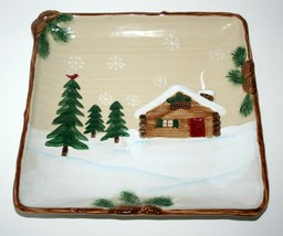 "St. Nicholas Square Heartland Serving Plate Platter Large Square 11.25"" ... - $24.57"