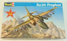 1:72 Revell SU-25 Frogfoot Russian Figther Bomber #4071 Plastic Model - $9.89