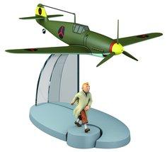 Tintin & The Bordurian BF-109 fighter plane from King Ottokar's Sceptre