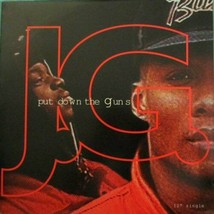 J.G. - PUT DOWN THE GUNS U.S. 12 INCH SINGLE RECORD 1993 3 TRACKS JG - $7.95
