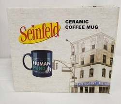 NEW SEALED 2020 Culturefly Seinfeld Human Fund Coffee Mug George Costanza - $18.49