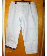 L.L. Bean Mens Khaki Pants Flannel Lining Gray 40 X 30  - $29.99