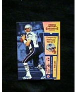 2000 Playoff Contenders Rookie Ticket Auto #144 Tom Brady [] Mini (RC) RP - $3.50