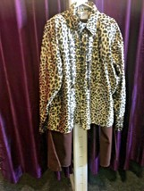 70's Party Animal , Leopard Short And Flares  - $25.67
