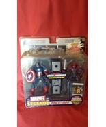 Marvel Legends Face Off Masked Captain America Vs Red Skull - $145.99