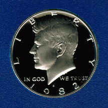 1982 S Proof Kennedy Half Dollar CP2021 - $4.75
