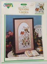 Victorian Garden Birds Cross Stitch Leaflet 1991 Book Color Charts 11003... - $14.99