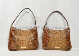 NWT Brahmin Noelle Leather Tote / Shoulder Bag in Toasted Almond Melbourne image 12