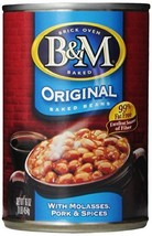 B&M Baked Beans, Original Flavor, 16 Ounce Cans Pack of 12