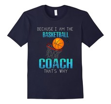 New Shirt - Funny Basketball Game Quote Shirt Basketball Coach Gift Idea... - $19.95+