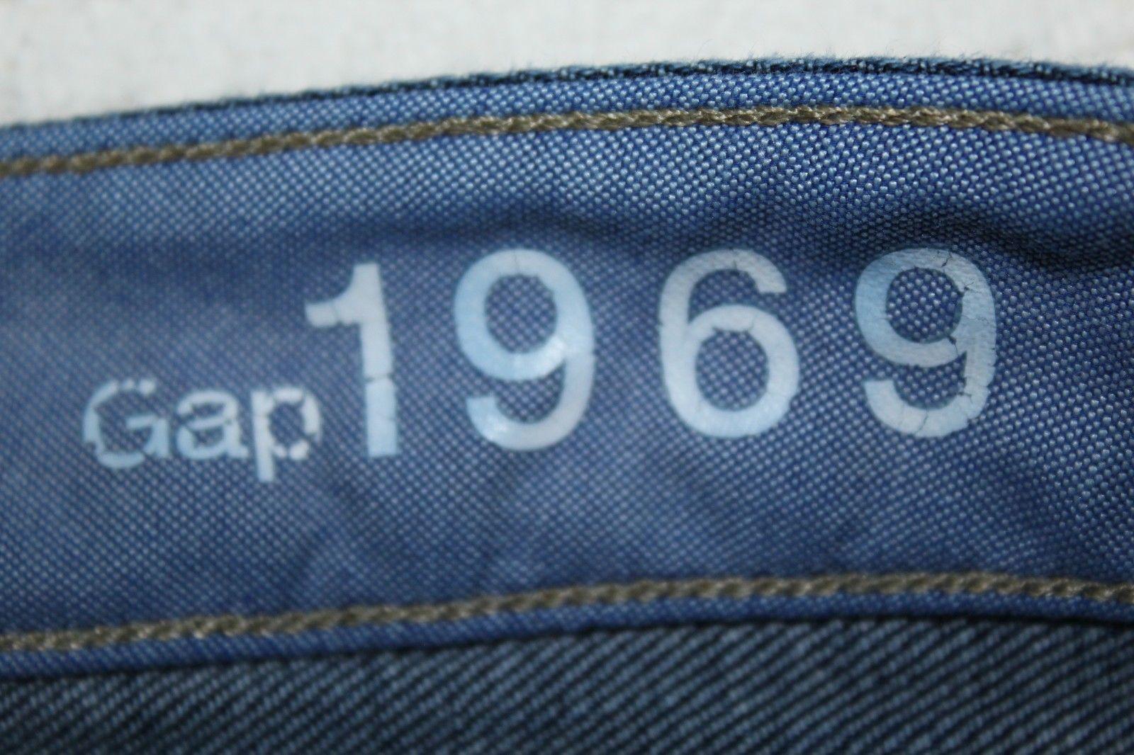 "GAP 1969 Long & Lean Women's Size 27/4P Bootcut Stretch Jeans 29"" Inseam GUC"
