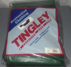 Tingley Rubber Protective Overalls Green Size XL #022008 Iron Eagle  - $32.66