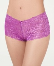 INC International Concepts Lace Boyshort Underwear Hyacinth Violet Size ... - $7.83