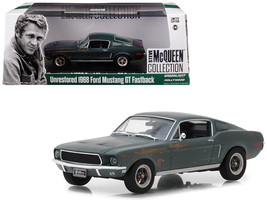 "1968 Ford Mustang GT Fastback Green Unrestored ""Steve McQueen Collectio... - $30.34"