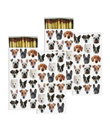 HomArt Large Decorative Dog Squad Matches Set of 2 - $18.99