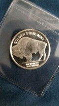 1/4 oz Silver Round - Indian Head Buffalo - $11.00