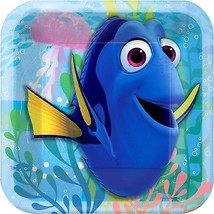 Finding Dory Square Dessert Plates - 7 inch (8 Pack) - $4.45