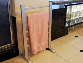 Towel warmer freestanding bath thumb200