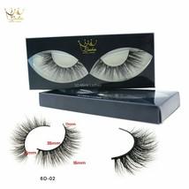 CrownLashes® 100% Mink Eyelashes False Eyelashes Criss-cross Natural Fake - €5,80 EUR