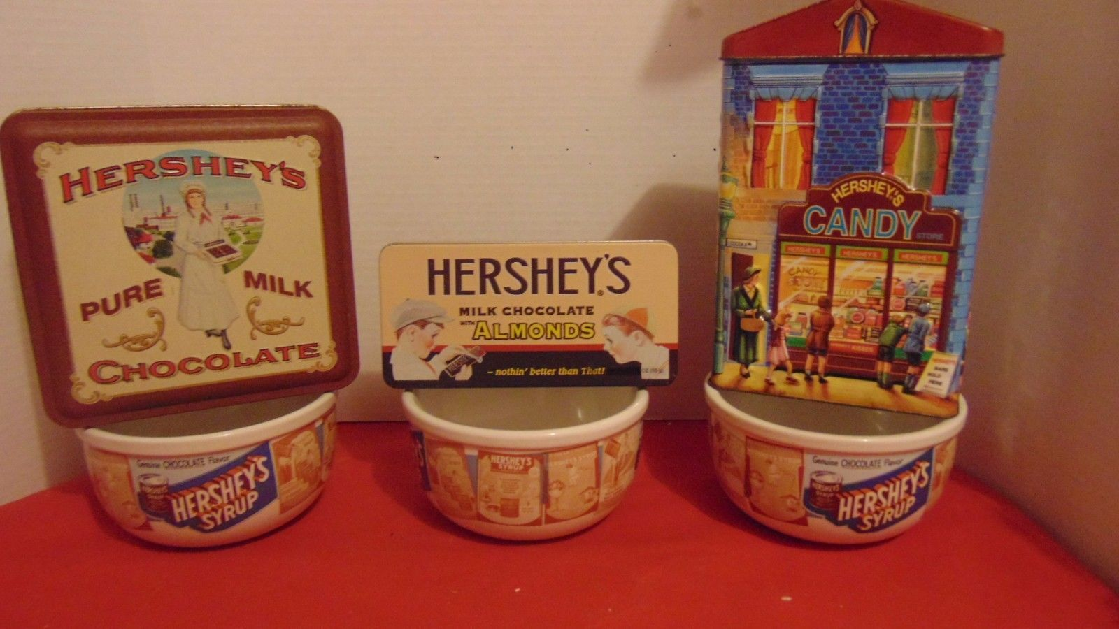 Hersheys Tins-Soup/Cereal Bowls-3 Each-Houston Harvest Gift Candy Store-Candy