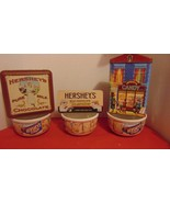 Hersheys Tins-Soup/Cereal Bowls-3 Each-Houston Harvest Gift Candy Store-... - $14.99