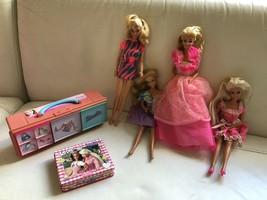 Vintage 1996 Birthday Surprise Barbie, 3 In 1 Barbie Fun,1999 Mattel Case - $39.99