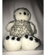 """Build A Bear Hedwig The Spotted Snow Owl 15"""" Plush Rotating Head Harry P... - $15.00"""