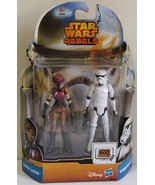 Star Wars Rebels 2-pack Sabine Wren & Stormtrooper Action Figures - $20.00