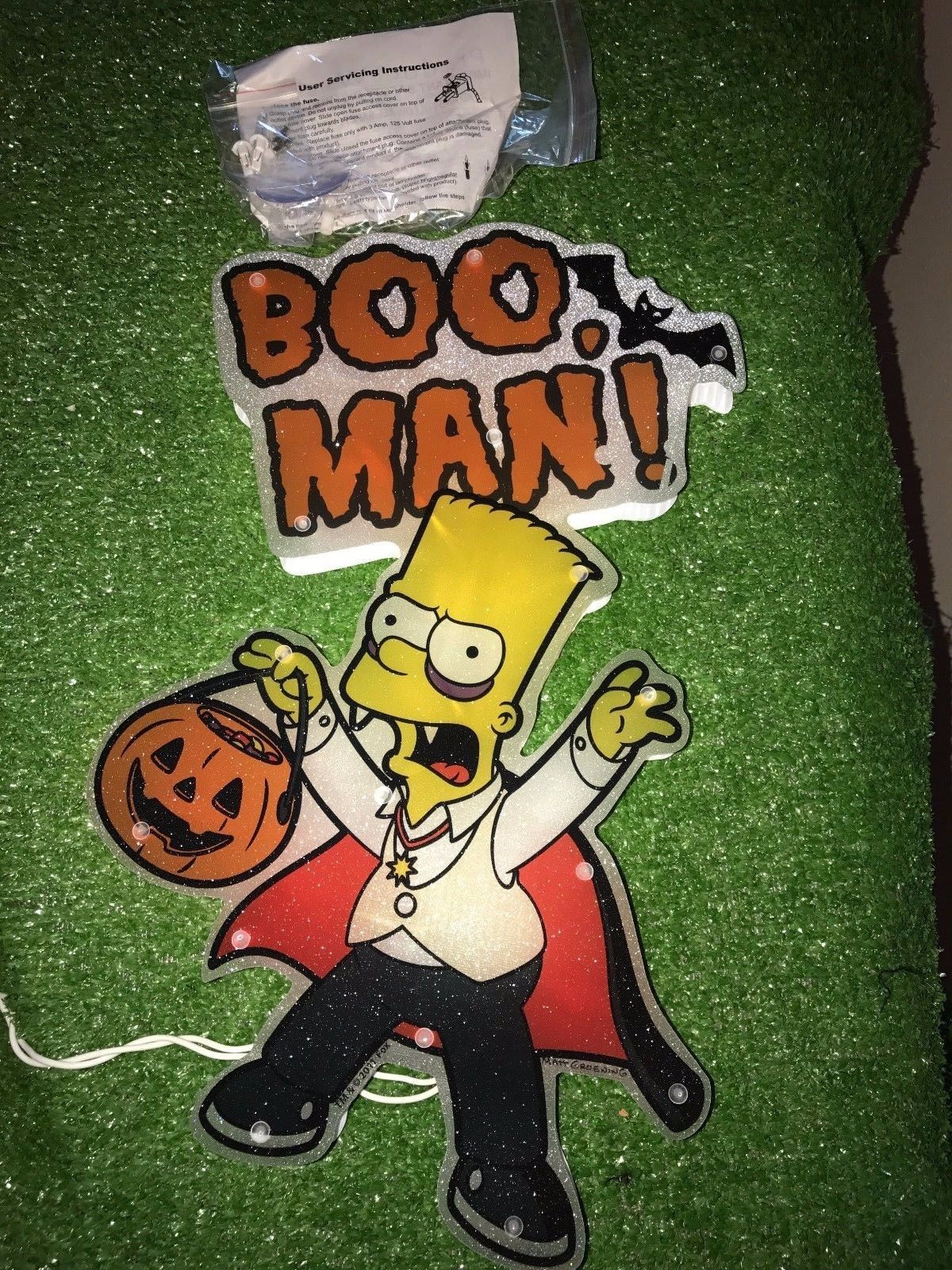Simpsons Halloween Shirt.New 15 Halloween 20 Light Simpsons Boo Man And 50 Similar Items