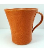 Lenox Desert Flora Terracotta Mug 12oz Cup Orange Southwestern Coffee Tea - $15.84