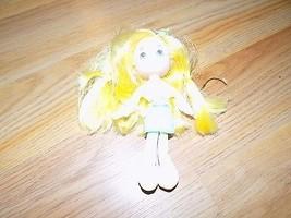 "6"" Scented Strawberry Shortcake Lemon Meringue Plush Doll Vinyl Head 200... - $15.00"