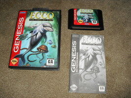 Ecco: The Tides of Time (Sega Genesis, 1994) - $11.83