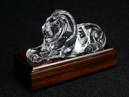 Steuben Glass Lion Sculpture - $902.50