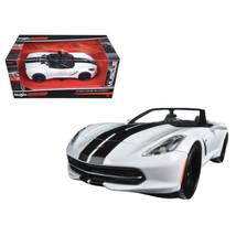 2014 Chevrolet Corvette Stingray Convertible White/Black Modern Muscle 1... - $30.60