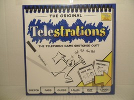 The Original Telestrations- The Telephone Game Sketched Out! - $39.49