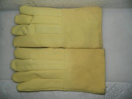 "Pro Safe Wool Lined Hot Mill Gloves 1 Pair 14"" Long PS-234-KV - $29.95"