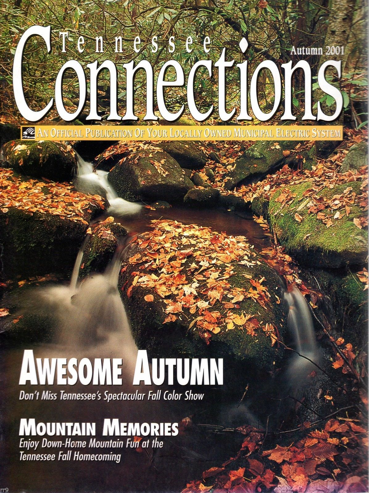 Primary image for Tennessee Connections Magazine Autumn 2001 Municipal Electric System