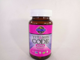 Garden of Life Vitamin Code Women 120 Vegetarian capsules *READ* {VS-G} - $27.12