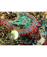 Huge Lot Junk Drawer Jewelry 8.5 lbs Vintage Modern Wear Craft Repurpose... - $45.54