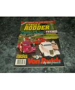 Street Rodder Magazine Vol 22 No 1 January 1993 Upholstery Techniques Pa... - $2.99