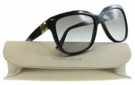 New Armani Sunglasses Women AR8042 Black Frame 5017/11 AR8042 57mm Fast ... - $97.02