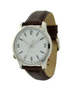 Left hand Watch White Big Size - Free shipping worldwide  - ₨3,286.01 INR