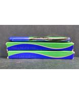 Lot of 2 Vintage NOS Avon Fine Line Eye Pens, Black/Plum, 0.025 Ounces Each - $5.52