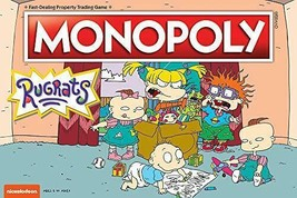 USAOPOLY Monopoly Rugrats Board Game | Based on The Nickelodean Series Rugrats | - $48.75