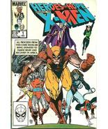 Heroes For Hope X-MEN #1 FINE 1985 MARVEL COMICS 1st Print Starlin Many ... - $9.90