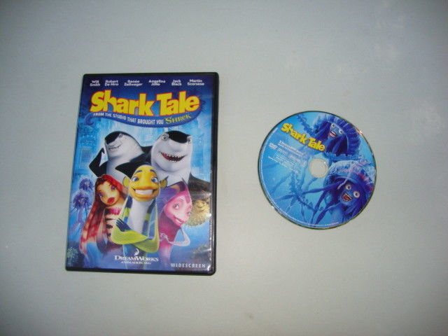 Shark Tale (DVD, 2005, Widescreen)