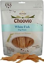 Choovio White Fish Dog Treats, Made in USA,( 5-Ounce Bag) - $17.99