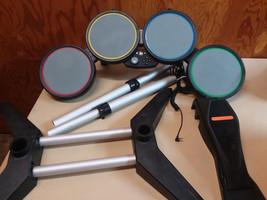 Xbox 360 Rock Band Guitar Hero Wired Drum Set - $89.05